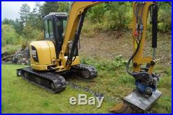 2016 Caterpillar 305.5E2 Cab A/C Heat Mini Excavator