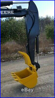 2016 Deere 35g Excavator Low Hour Heat A/c Hydraulic Thumb Ready To Work In Pa