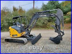 2016 Deere 50g Excavator New Hydraulic Thumb Angle Blade Ready 2 Work We Finance