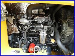 2016 John Deere 50G MINI EXCAVATOR Diesel CAB ANGLE BLADE NICE SHAPE