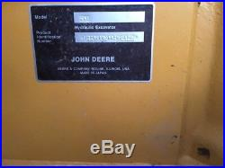2016 John Deere 50G Mini Excavator Enclosed Cab Hydraulic Thumb