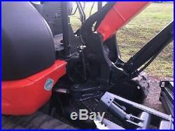 2016 Kubota KX040-4 Mini Excavator HYD THUMB, ANGLE BLADE, AUTO IDLE, 2 SPEED