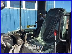 2016 Kubota KX040 Mini Excavator Same as KX121 Cab Heat Air ONLY 240 HOURS