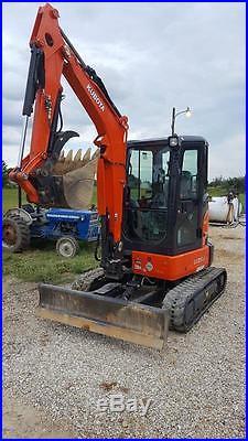2016 Kubota U35 Mini Excavator