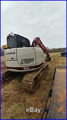 2016 Link Belt 75x3 spin ace excavator 300hrs save 30k
