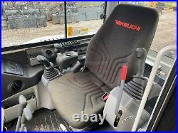 2016 Takeuchi Tb240 Mini Excavator, Cab, 2 Speed, Aux Hyd, Heat A/c, 356 Hours