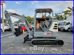 2016 Terex TC35-2 R Mini Excavator, Rubber Tracks, great condition, 680 hours