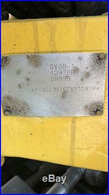 2016 YANMAR SV08 Mini Excavator Rubber Tracks (56hrs) ie Bobcat Kubota