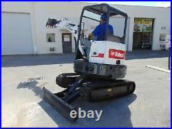 2017 BOBCAT E26 MINI EXCAVATOR 6,000 LB 2 SPEED With BLADE SELECTABLE CONTROLS