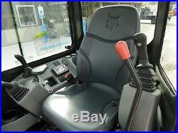 2017 Bobcat E26 MINI EXCAVATOR Diesel CAB NICE SHAPE LOW HOURS