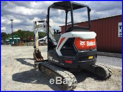 2017 Bobcat E35 Hydraulic Mini Excavator Only 800 Hours Super Clean