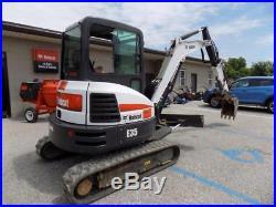 2017 Bobcat E35 Mini Excavator, 371 Hours! , Cab, AC/Heat, 2 Speed, 24 HP Doosan