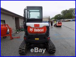 2017 Bobcat E35i Mini Excavator, 105 Hrs! , Cab, AC/Heat, 2 Spd, X-Change Coupler