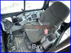 2017 Bobcat E42 Mini Excavator, Cab, Heat/ac, Long Arm, Hyd Thumb, 2 Sp, 438 Hrs