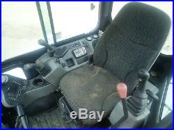 2017 Bobcat E42 Mini Excavator, Cab, Heat/ac, Thumb, Angle Blade, 2 Spd, 42.7 HP