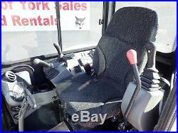 2017 Bobcat E55 Excavator, Cab, Heat/ac, 2 Spd, Hyd. Thumb, 428 Hrs, 49hp Diesel