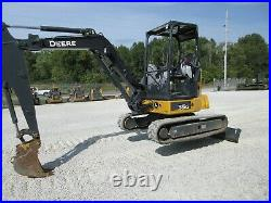 2017 John Deere 35G EXCAVATOR Runs and operates Great! LOW HOURS Long Stick