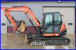 2017 Kubota Kx080-4 Excavator Ready To Work Today 780 Hours
