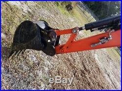 2017 Kubota U35-4 Mini Excavator, Only 330 Hours, Ready To Work