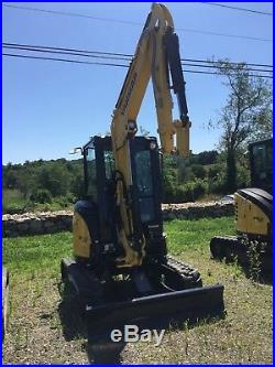 2017 Low Hour Demo Yanmar Vio35-6A Mini Excavator