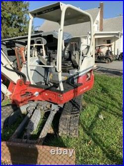 2017 TAKEUCHI TB240 Mini Excavator