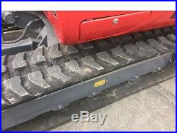 2017 Takeuchi TB240 Mini Excavator 8289 lbs 281 Hrs with Thumb, Angle Blade
