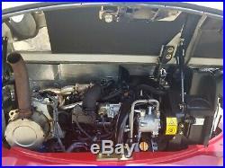 2017 Takeuchi TB260 Excavator Thumb Diesel Dozer Blade Enclosed Cab Mini Cat