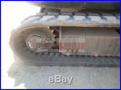 2018 Bobcat E55 Mini Excavator Cab Heat/ac Aux Hyd Hyd Thumb Hyd Angle Blade 2sp