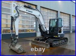 2018 Bobcat E85 Digger / Excavator