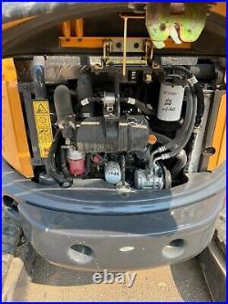 2018 Case CX37C Mini Excavator A/C Cab Trackhoe Thumb Aux Hyd Blade