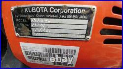 2018 Kubota KX040-4R3AP Used