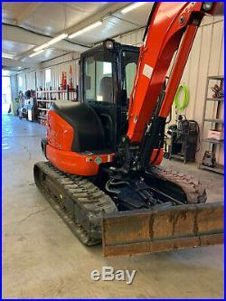 2018 Kubota KX057-4R3A Mini Excavator
