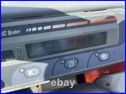 2018 Kubota KX71-3 Open Cab 2 Speed Push Blade Quick Attach Kubota Eng