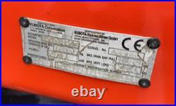 2018 Kubota Kx080-4 Hydraulic MIDI Excavator Diesel Thumb Low Hours