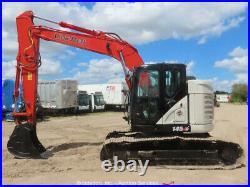 2018 Link Belt 145X4LC Excavator A/C Cab Rear View Camera Trackhoe bidadoo