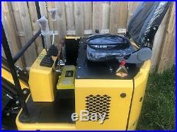 2018 Mini Excavator Rubber Track Backhoe Dozer Blade Gas + Attachments
