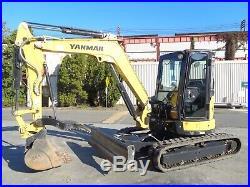 2018 Yanmar VI050-6A Mini Excavator- Diesel- A/C & Heat- Enclosed Cab -161 Hours