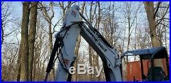 2019 BOBCAT E26 mini-excavator 122 hrs. Aux Hyd. Thumb 2nd bucket 2 Spd