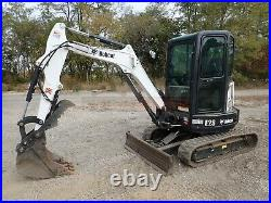 2019 Bobcat E26 Mini Excavator, Cab, Heat/ac, Hyd Thumb, 2 Spd, 400 Hrs, 0% Finance