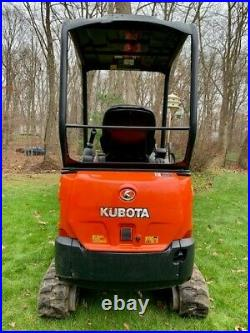 2019 Kubota KX018 Mini Excavator with Warranty until 06/23