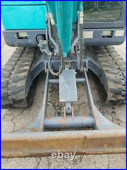2019 Yanmar Sunward SWE60B 6 Ton Mini Excavator Midi Excavator Only 327 Hours