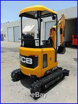 2020 Jcb 18z-1 Backyard Mini 4,000 Lb Excavator Retractable Undercarriage
