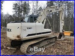 $24000! 2009 TEREX TXC140LC-1 Full Size Excavator Heat/Ac
