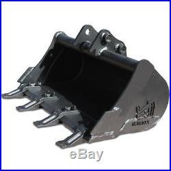 24 Rhinox Mini Digger / Excavator Bucket For JCB 8008 / Micro