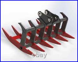 2-4 Ton Mini Digger / Excavator Rake Windrow HARDOX 450 INC VAT Hitachi JCB CAT