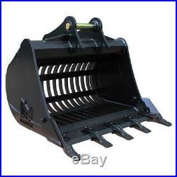 30 Rhinox Riddle (Shaker) Bucket To Fit JCB 802 8026 803 8025 8027 8030 8035