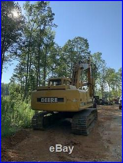 $30k John Deere 160LC with Geith Thumb, AC / Quick Coupler / Aux Hyd / WORK READY