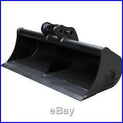 36 Rhinox Mini Digger / Excavator Bucket For Hitachi ZX16 / ZX17U / ZX19U