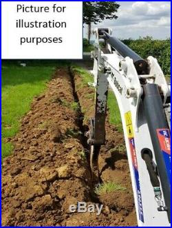 3 Narrow Trenching Excavator Bucket For JCB 801.4 / 801.5 / 801.6 / 8018