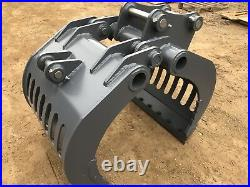 6-9 Ton Mechanical Selector Grab HARDOX! VAT INC, FREE DELIVERY